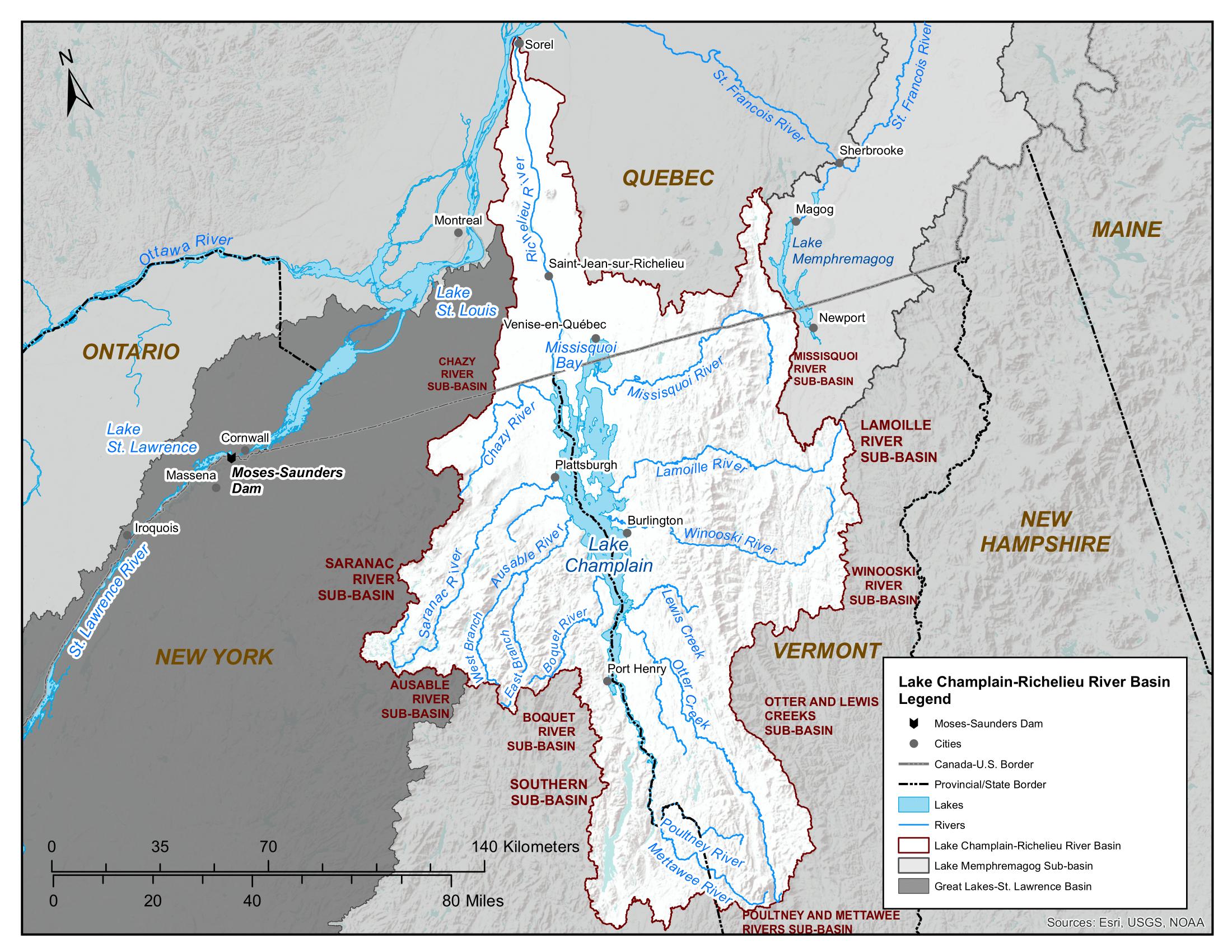 Lake Champlain and Richelieu River