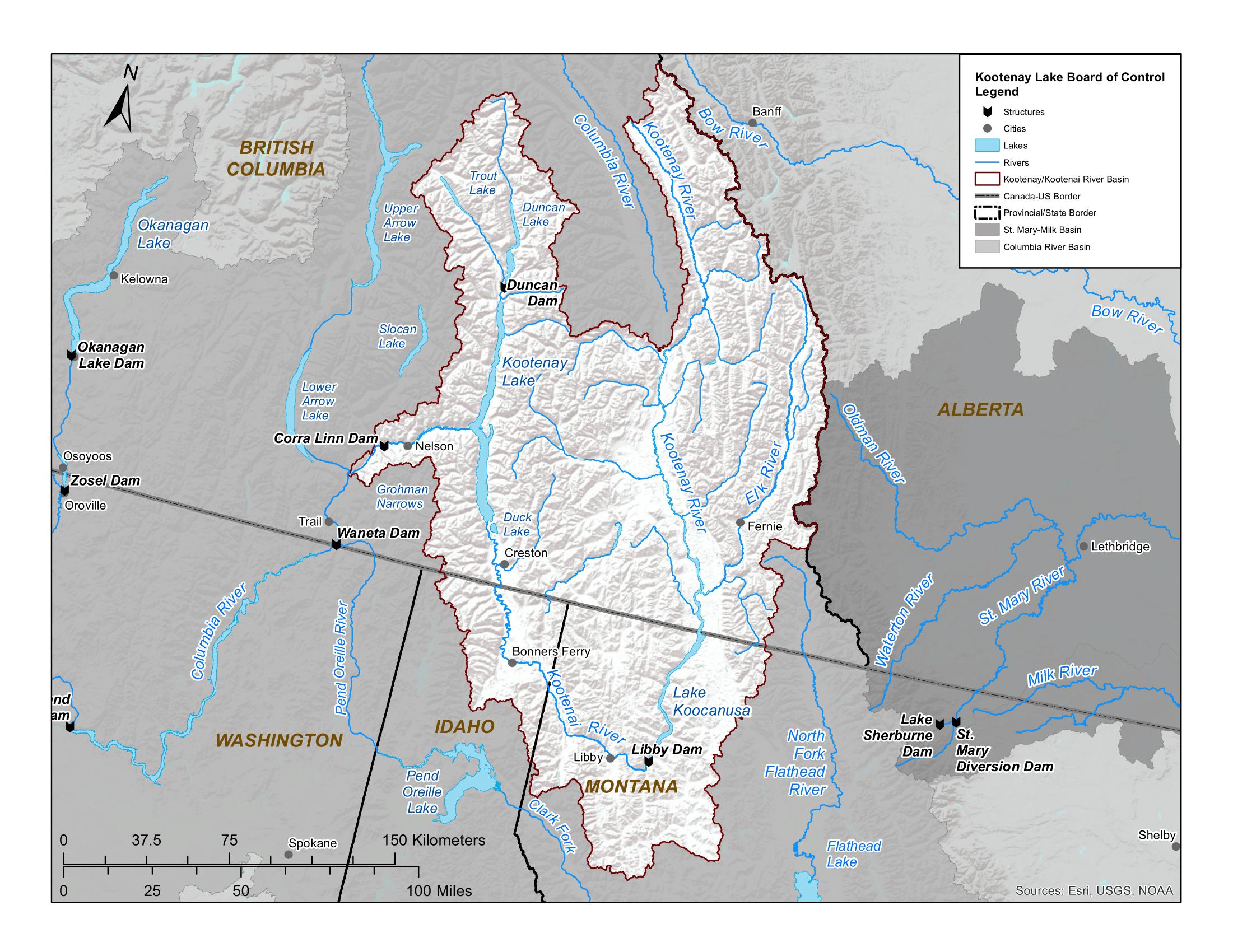 Kootenay EN map