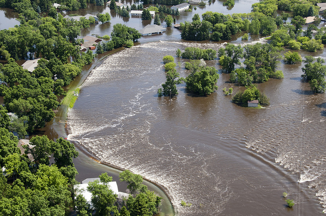 Image of Souris River Flood of 2011