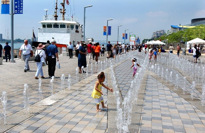 child detroit riverfront