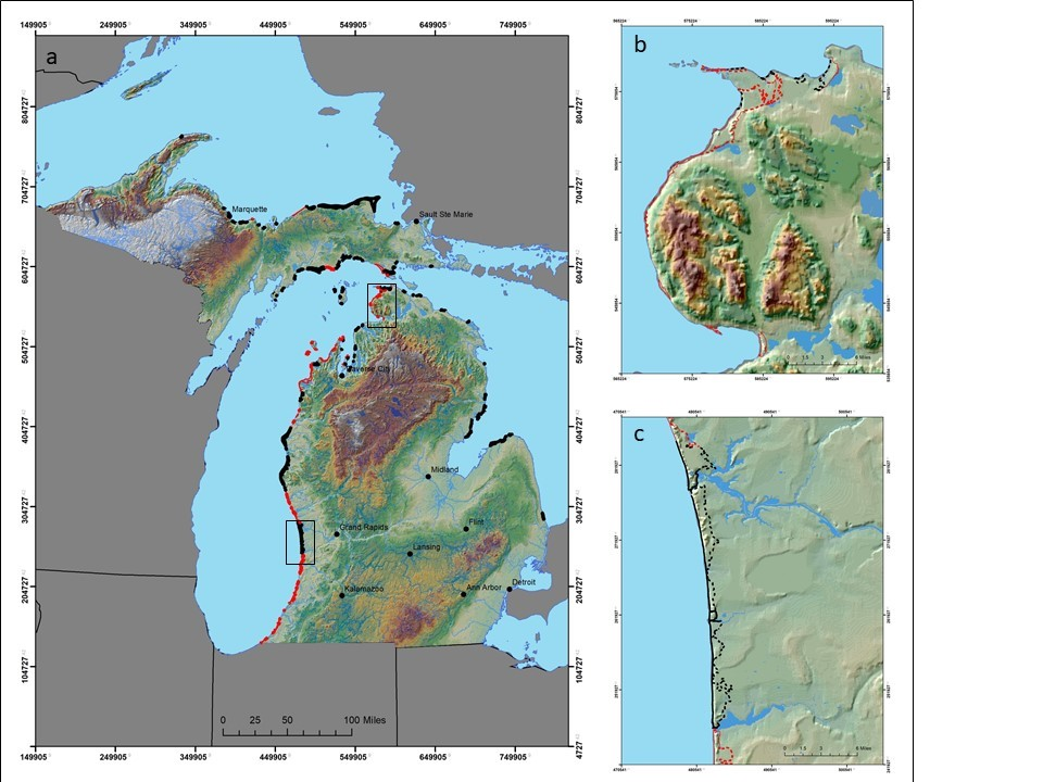 Michigan coastal dunes