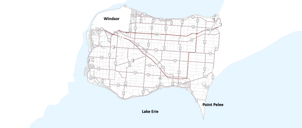 essex county map