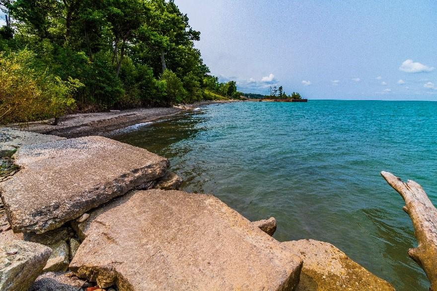 erie coastline