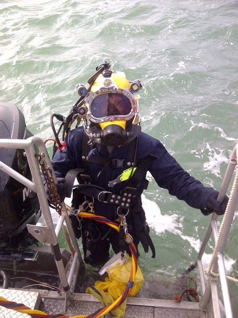 Pêche de moules dans le secteur préoccupant de la rivière Niagara. Source : US Army Corps of Engineers