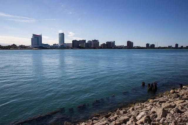 La rivière Détroit est un secteur préoccupant binational en cours de restauration. Source : Anna Fox