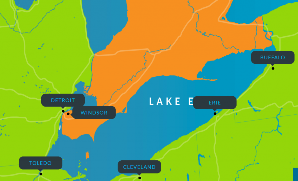 erie hack map