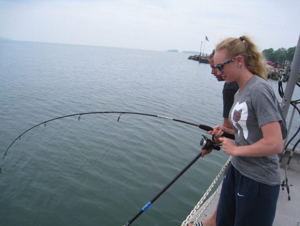 Pêche sur le lac Érié. Photo : Ohio Sea Grant