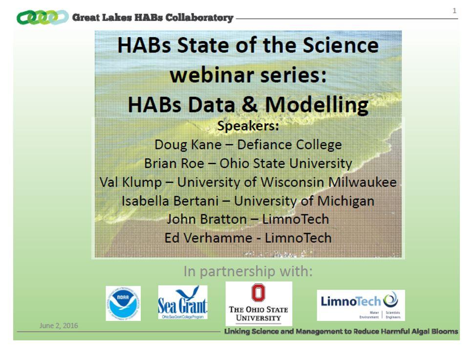 habs state of the science webinar series slide data modelling
