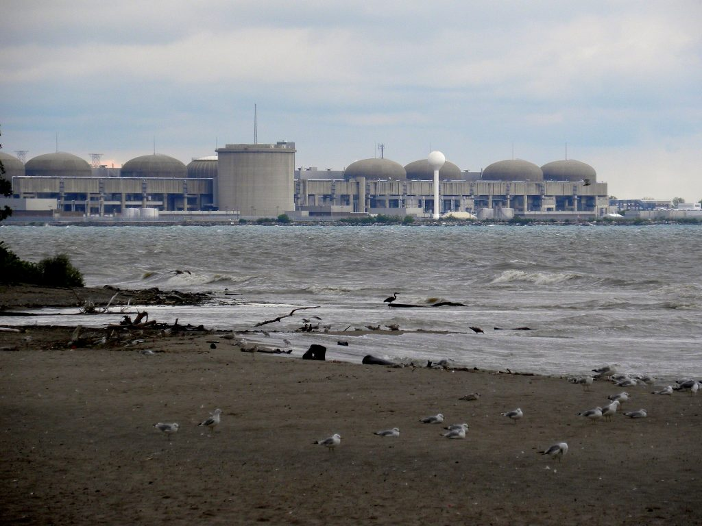 The Pickering nuclear generating facility in Pickering, Ontario