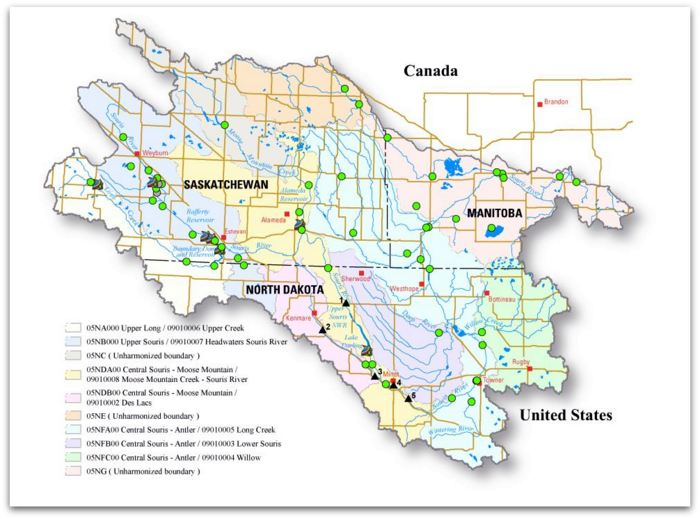 The Souris River Basin. Credit: USGS
