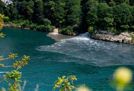 aug. 15 discharge sewage niagara river