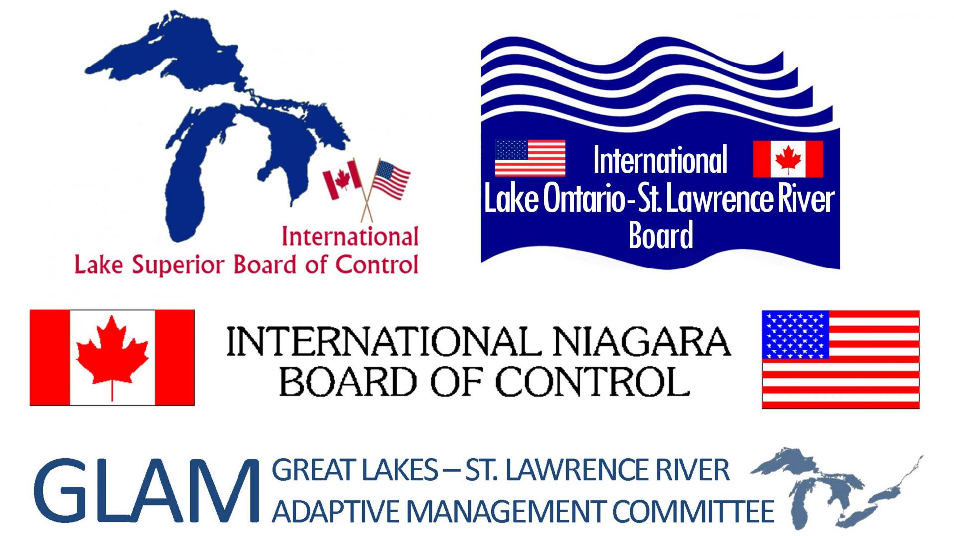 Logos of all three Great Lakes regulation boards