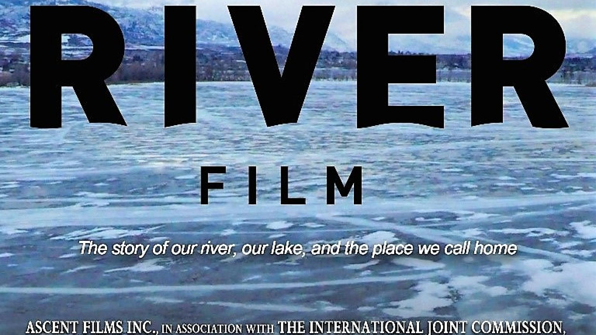 Flyer for A River Film documentary