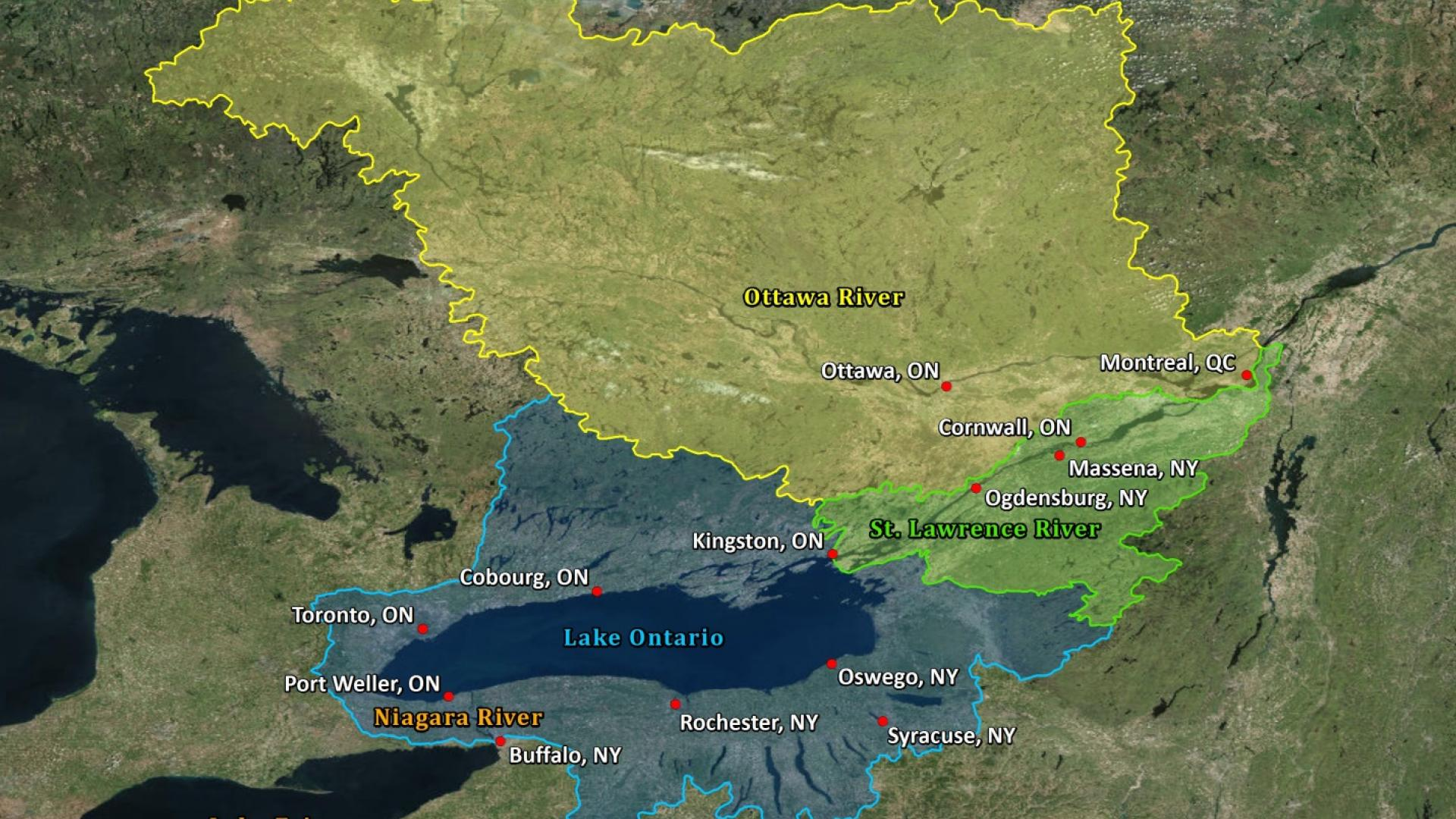 Lake Ontario-St. Lawrence River Water Levels: Wetter Conditions ...