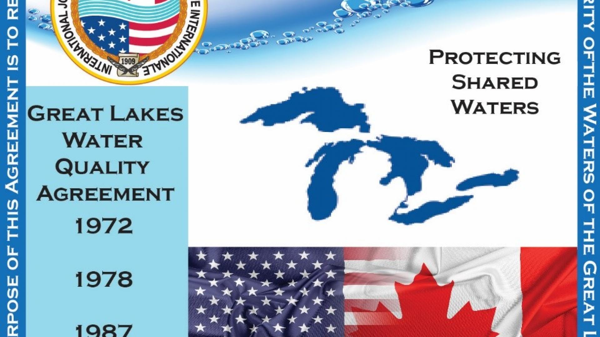 The Great Lakes Water Quality Agreement, signed in 1972, was most recently revised in 2012. Credit: Monique Myre