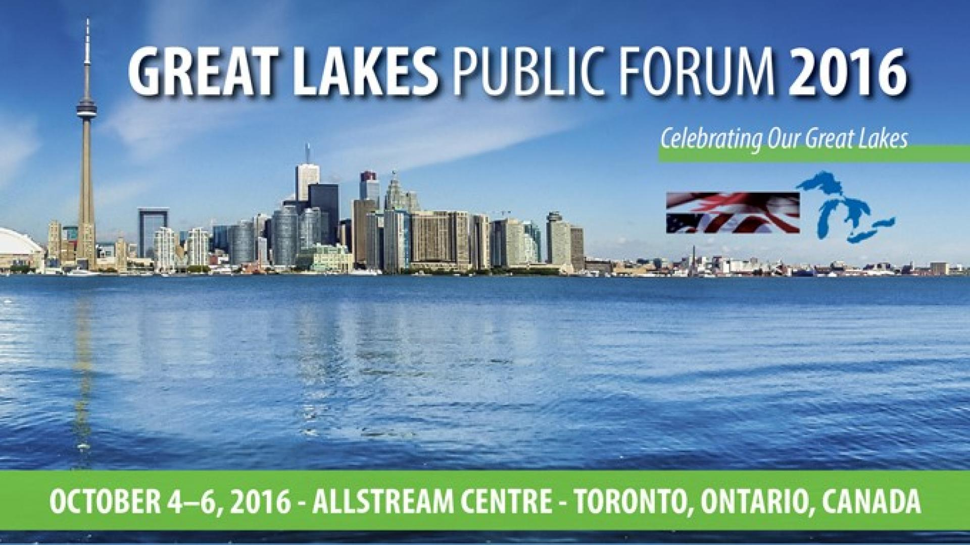Great Lakes Public Forum ad
