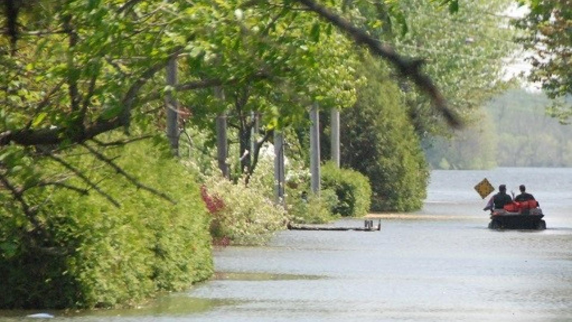 Image of Flooding in Lake Champlain-Richelieu River