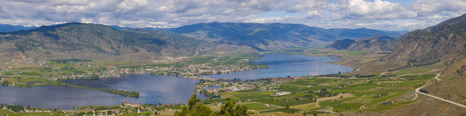 Landscape image of Osoyoos Lake