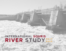 Cover image of the Souris River Study Board's brochure