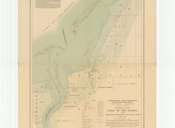 MAP - Lake of the Woods McGinnis Creek sheet no 16 - 1914-01-01