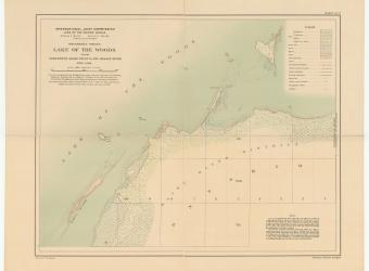 MAP - Lake of the Woods Windy Point sheet no 17 - 1914-01-01