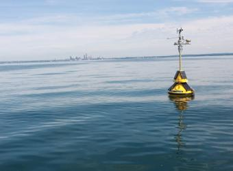 weather buoy cleveland lake erie